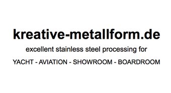 kreative Metallform